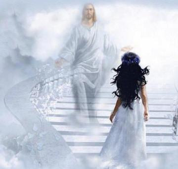 JESUS BRIDE STAIRCASE
